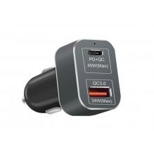 Автомобильная зарядка  USB-C для MacBook Air, Pro
