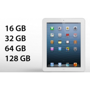 iPad 4 16 GB Wi-Fi белый