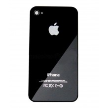 Задняя крышка, заднее стекло для iPhone 4 черное