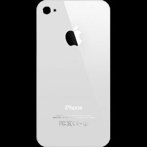 Задняя крышка, заднее стекло для iPhone 4S белое
