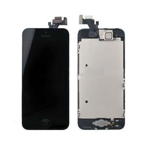 iPhone 5S экран, стекло (тач и LCD в сборе) черный