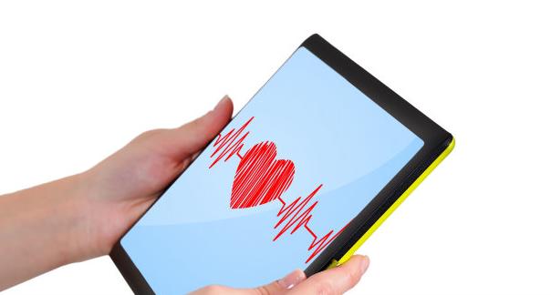 Сердеце на iPad