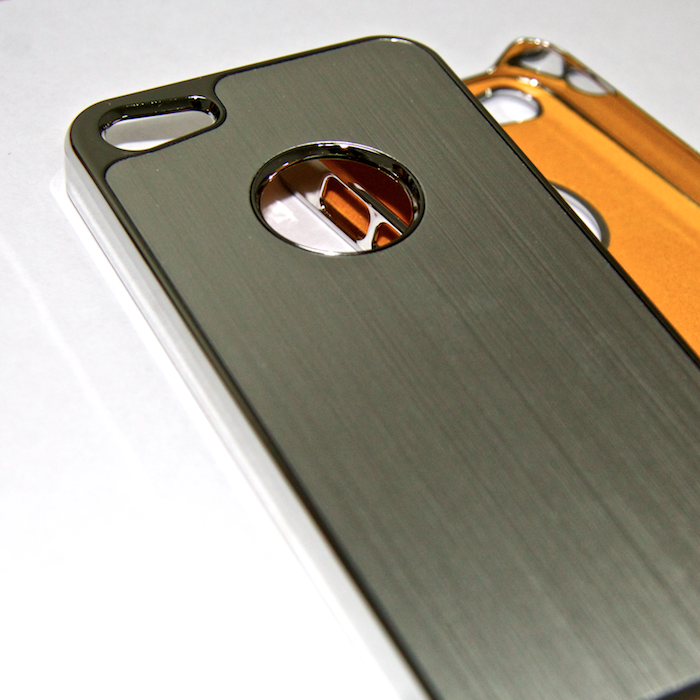 Чехол для iPhone 5 Luxury Brushed Metal